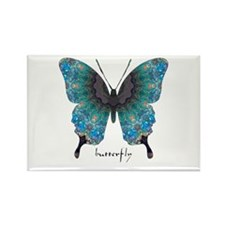 Transformation Butterfly Rectangle Magnet