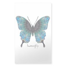 Transformation Butterfly Sticker (Rectangle)