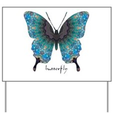 Transformation Butterfly Yard Sign