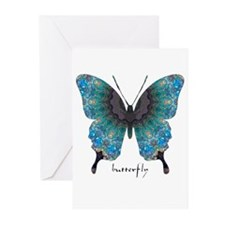 Transformation Butterfly Greeting Cards (Pk of 10)
