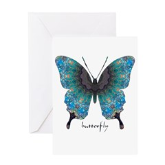 Transformation Butterfly Greeting Card