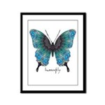 Transformation Butterfly Framed Panel Print