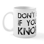 Don't Bro Me Mug