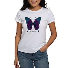 Luminescence Butterfly Women's T-Shirt