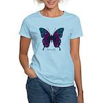 Luminescence Butterfly Women's Light T-Shirt