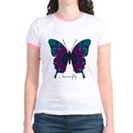 Luminescence Butterfly Jr. Ringer T-Shirt