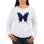 Luminescence Butterfly Women's Long Sleeve T-Shirt