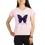 Luminescence Butterfly Performance Dry T-Shirt