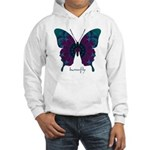 Luminescence Butterfly Hooded Sweatshirt