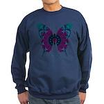Luminescence Butterfly Sweatshirt (dark)
