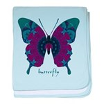 Luminescence Butterfly baby blanket