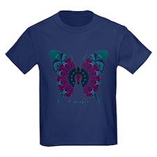 Luminescence Butterfly Kids Dark T-Shirt