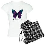 Luminescence Butterfly Women's Light Pajamas