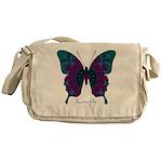 Luminescence Butterfly Messenger Bag