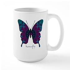 Luminescence Butterfly Large Mug
