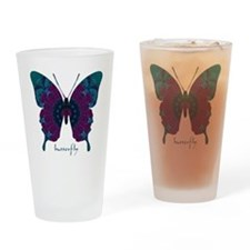 Luminescence Butterfly Drinking Glass