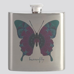 Luminescence Butterfly Flask