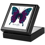 Luminescence Butterfly Keepsake Box