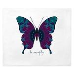Luminescence Butterfly King Duvet