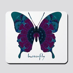 Luminescence Butterfly Mousepad