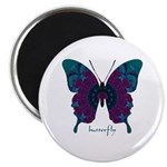Luminescence Butterfly Magnet