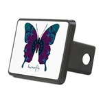 Luminescence Butterfly Rectangular Hitch Cover