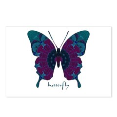 Luminescence Butterfly Postcards (Package of 8)