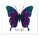 Luminescence Butterfly Small Poster
