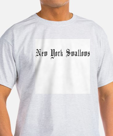 New York Swallows Ash Grey T-Shirt