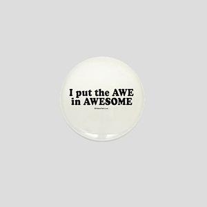 Awesome - Mini Button