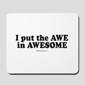 Awesome -  Mousepad