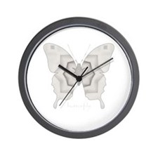 Purity Butterfly Wall Clock