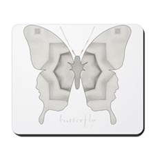 Purity Butterfly Mousepad