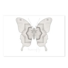 Purity Butterfly Postcards (Package of 8)