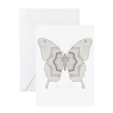 Purity Butterfly Greeting Card