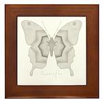Purity Butterfly Framed Tile