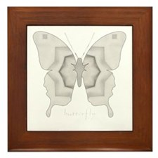 Purity Butterfly Framed Tile