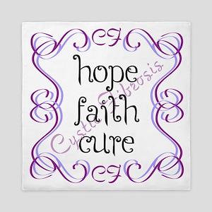CF Hope Faith Cure Curls Queen Duvet