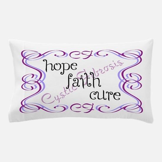 CF Hope Faith Cure Curls Pillow Case