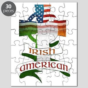 Irish American Celtic Cross Puzzle