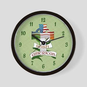 Irish American Celtic Cross Wall Clock