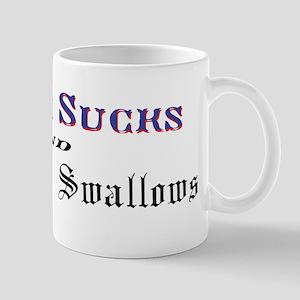 Boston Sucks AND New York Swallows Mug