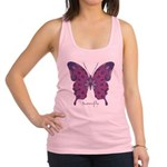 Princess Butterfly Racerback Tank Top