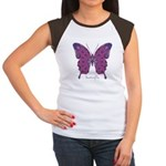 Princess Butterfly Women's Cap Sleeve T-Shirt