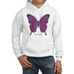 Princess Butterfly Hooded Sweatshirt