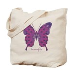 Princess Butterfly Tote Bag