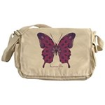 Princess Butterfly Messenger Bag