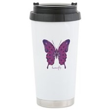 Princess Butterfly Stainless Steel Travel Mug