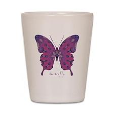 Princess Butterfly Shot Glass