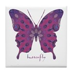 Princess Butterfly Tile Coaster